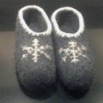Viltsloffen sneeuwkristal