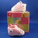Babysneakers roze 1